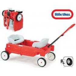 Little Tikes Wózek dla dwojga ławeczka stolik 3w1