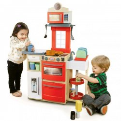 Little Takes Czerwona Kuchnia Kompaktowa Cook And Store