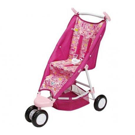 BABY BORN Trzykołowa Różowa Spacerówka Wózek dla laki 43cm