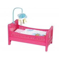 Baby Born Łóżeczko dla lalki 43 cm Światło Dźwięk