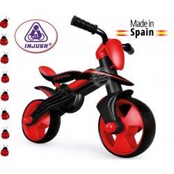 Bezpieczny rowerek biegowy renomowanej hiszpańskiej firmy INJUSA. Doskonały prezent na każdą okazję.