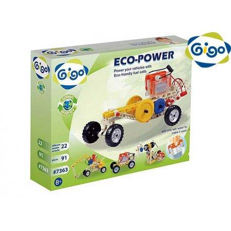 GIGO Klocki Edukacyjne Eko Energia 91 elementów