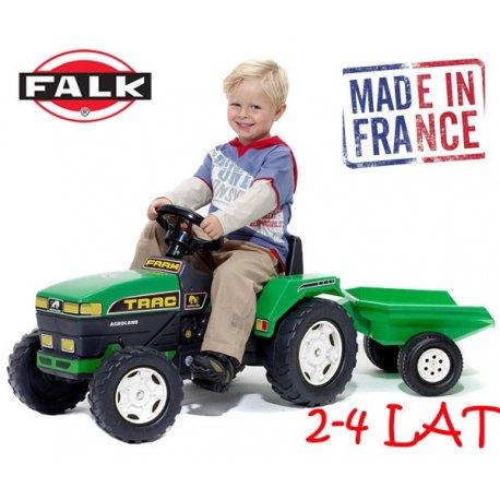 Falk Traktor Farm Track z przyczepką