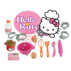 Smoby - Ecoiffier Hello Kitty zestaw do pieczenia 17 akc.
