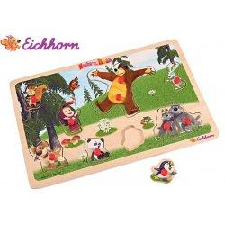 Eichhorn Masza I Niedźwiedź Puzzle Układanka 11 el. Z Uchwytami