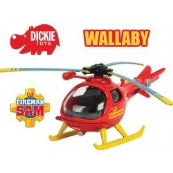 DICKIE Strażak SAM Metalowy Helikopter Wallaby