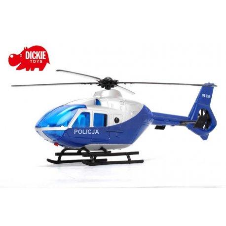 DICKIE Helikopter Policyjny Sky Patrol Światło Dźwięk