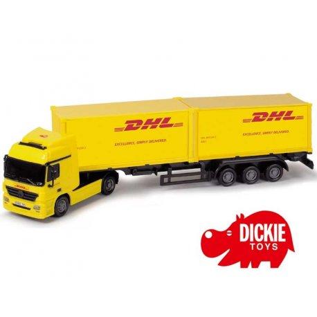DICKIE Tir z naczepą Cargo Truck DHL