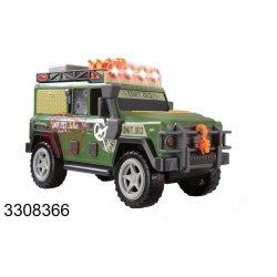 Dickie Pojazd terenowy Jeep światło dźwięk Straż Graniczna