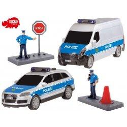 DICKIE SOS Drużyna policyjna - zestaw 2 pojazdy