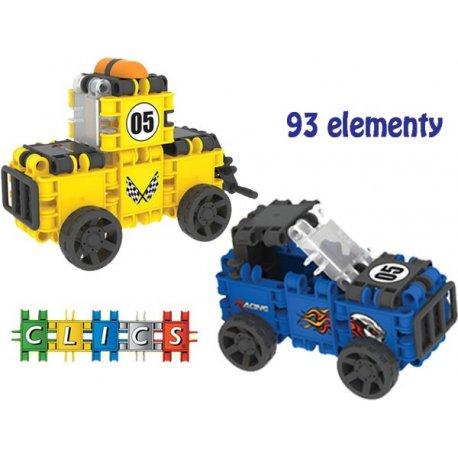 Clics Klocki Konstrukcyjne Racing Pojazdy 93 elem.