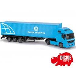 DICKIE Tir z naczepą Cargo Truck GLOBAL LOGISTICS