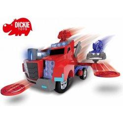 DICKIE Pojazd Transformers Bojowy Wyrzutnik Optimus Prime