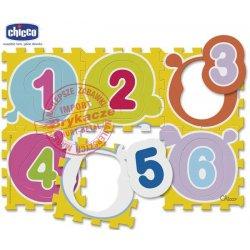 Chicco Miękka Mata Puzzle Cyfry