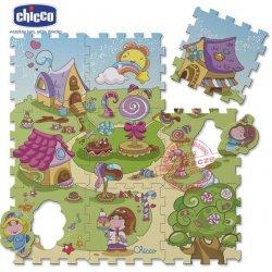 Chicco Miękka Mata Puzzle Słodkości