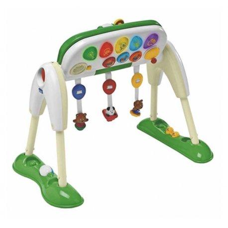 Chicco Zestaw Gimnastyczny Delux Centrum Zabaw 3w1 światło dźwięk