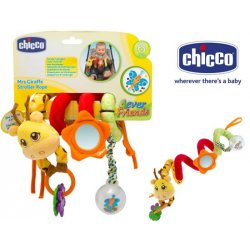 Chicco Zabawka do Wózka Żyrafa grzechotka z lusterkiem