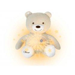 Chicco Miś z Projektorem Beżowy Pozytywka First Dream