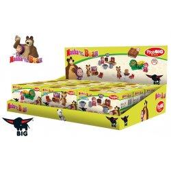 Big Klocki Masza i Niedźwiedź Zestaw telewizyjny z figurką Misza