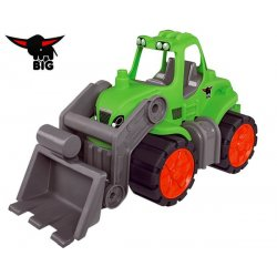 Big Traktor z łyżką samochód idealny do przedszkola