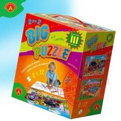 Alexander Gra Big Puzzle III do kolorowania + Kolorowe kredki