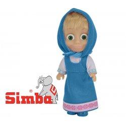 SIMBA Lalka Masza Kolorowa Niebieska