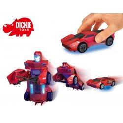 DICKIE Samochód Transformers - Walczący Robot Sideswipe