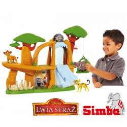 SIMBA Lwia Straż Zestaw Lwia Ziemia WINDA + FIGURKA