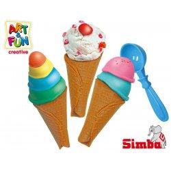 SIMBA Art&Fun Masa plastyczna Lody w rożku