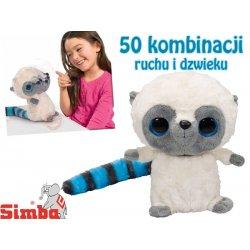Simba YooHoo&Friends Interaktywny Miś z puszystym ogonem Dźwięk