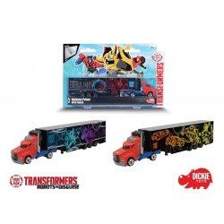DICKIE Transformers Optimus Prime Ciężarówka z naczepą