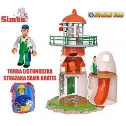 Simba Strażak Sam latarnia Morska Figurka + Torba Listonoszka GRATIS