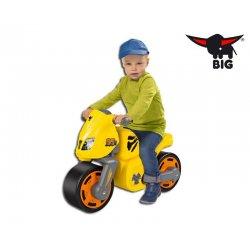 BIG Jeździk motor BIG Speed BIKE żółty