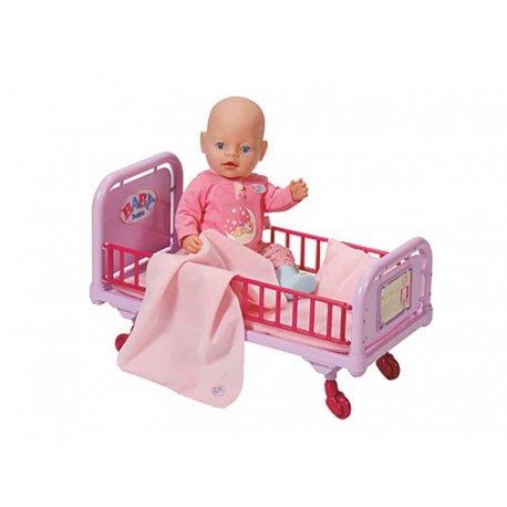 Baby Born Łóżeczko Doktora Dla Lalki + pościel