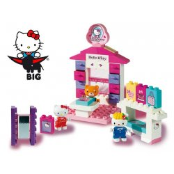 BIG Klocki Play Bloxx Hello Kitty Sklepik