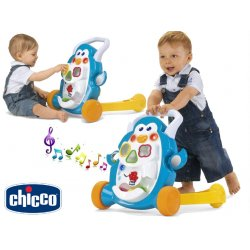 Chicco Chodzik Grający Pchacz Pingwin światło dźwięk