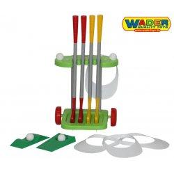 WADER Golf Wózek Zestaw Golfowy 15 elementów