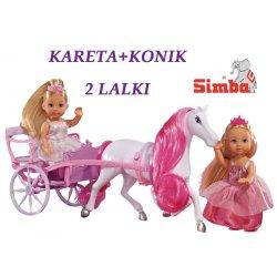 SIMBA Lalka Evi Love w Romantycznej Karecie