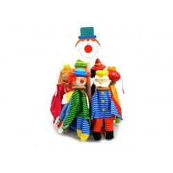 NOVA Pacynki Kukiełki na palec 6 modeli Król Królewna Smok Pajac
