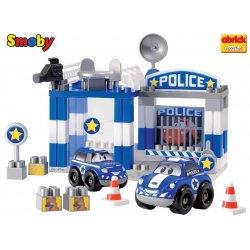 Smoby Ecoiffier Abrick Policja - 59 el.
