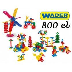 Wader Klocki Listki 800 elem. do przedszkola