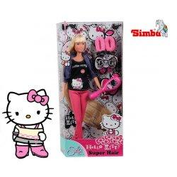 Simba Lalka Steffi Fryzjerka Hello Kitty