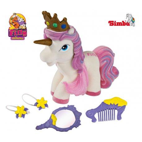 Simba kucyk Filly Beauty Queen konik Księżniczka Sparkle z akcesoriami