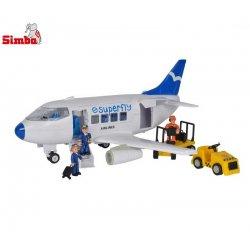 Simba Superplay Samolot pasażerski klocki Boeing lotnisko