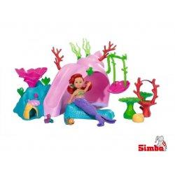 Simba Lalka Evi Syrenka w podwodnym Domku ze Zjeżdżalnią