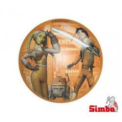Simba JOHN Piłka Gwiezdne Wojny perłowa 230mm Star Wars
