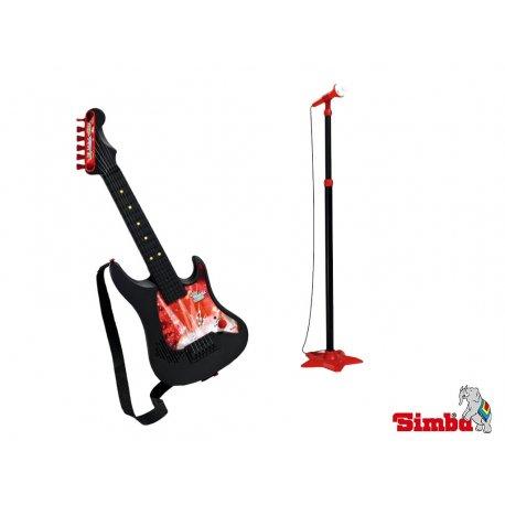 SIMBA My music World Gitara z mikrofonem