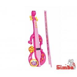 SIMBA Elektroniczne Skrzypce Ze Smyczkiem 8 melodii