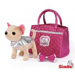 Simba Piesek Chi Chi Love Glam Fashion w torebce
