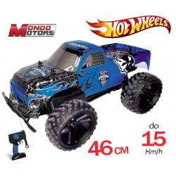 MONDO Hot Wheels Ogromny Monster Truck RC Niebieski